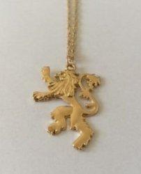 Брелок Game of Thrones Lannister Lion №2