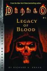 Книга Diablo: Legacy of Blood (Blizzard Legends) Мягкий переплёт (Eng)