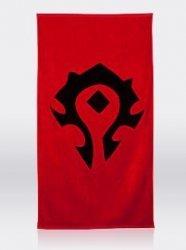Полотенце со знаком Орды (Horde World of Warcraft Towel) 150 x 72 cm