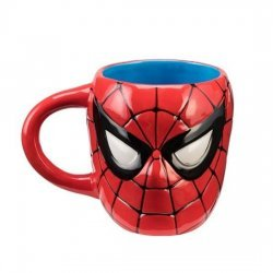 Чашка Spiderman - Sculpted 20 oz. Ceramic Mug