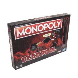 Монополия настольная игра Дэдпул Monopoly Game: Marvel Deadpool Edition