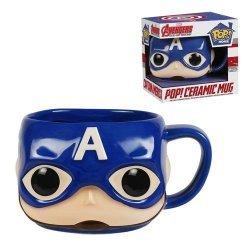 Чашка Avengers - Captain America Pop! Home 12 oz. Mug