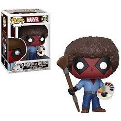 Фигурка Funko POP Marvel: Deadpool Playtime - Bob Ross фанко дэдпул