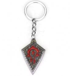 Брелок - Horde Орда World of Warcraft Metal silver