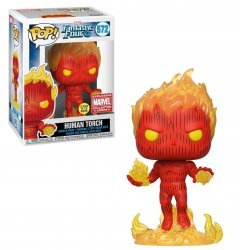 Фигурка Funko Pop Marvel - Human Torch 572 (Marvel Exclusive)