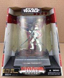 Фигурка Star Wars - TITANIUM DIECAST - Red Clone Trooper