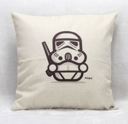 Наволочка Star Wars  (Polyester & Linen) Trooper
