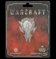 Значок collectible Pin WARCRAFT DISTRESSED HORDE ICON PIN