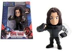 Фигурка Jada Toys Metals Die-Cast: Marvel Winter Soldier Figure