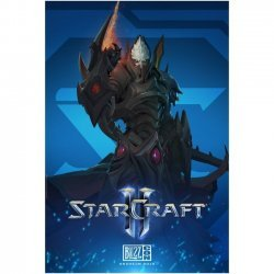 Плакат фирменный Blizzard - StarCraft Protoss Poster