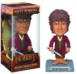 "Фигурка Hobbit ""Bilbo Baggins"" WACKY WOBBLER BOBBLE"