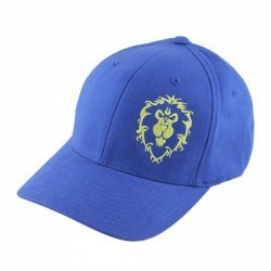 Кепка World of Warcraft Azeroth Choppers Alliance Hat (размер S/M, L/XL) синий