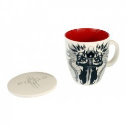 Чашка Diablo Tyrael Mug with Lid