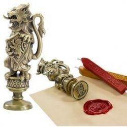 Сургучная Печать Harry Potter - Gryffindor Wax Seal