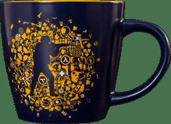 Кружка Valve CS:GO Icon Splatter Mug 350 ml Navy