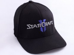 Кепка StarCraft II Logo Flexfit Hat (размер S/M)