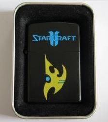 Зажигалка  Starсraft  Protos (black)