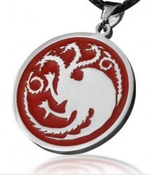 Медальон Game of Thrones Targaryen Dragon