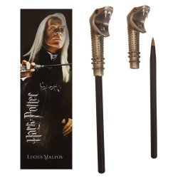 Ручка палочка Harry Potter - Lucius Malfoy Wand Pen and Bookmark + Закладка