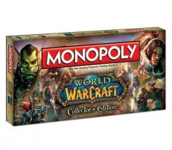 Настольная игра Monopoly: World of Warcraft Collectors Edition (Монополия Варкрафт)