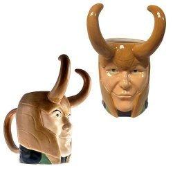 Чашка Avengers - Thor Loki Marvel Molded 16 oz. Mug
