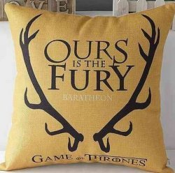 Подушка Game of Thrones  (Cotton & Linen) Baratheon
