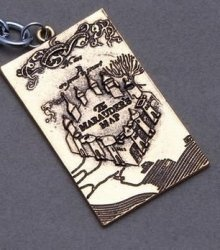 Брелок Harry Potter The Marauder's Map #2