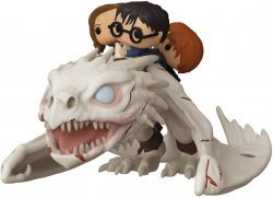 Фигурка Funko Pop Rides: Harry Potter - Gringotts Dragon with Harry, Ron, and Hermione Figure