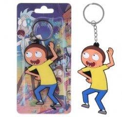 Брелок Рик и Морти Rick And Morty №8 Двухсторонний Объемный 3D брелок