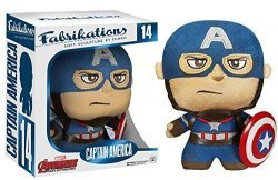 Мягкая игрушка Fabrikations Funko Marvel: Captain America Plush