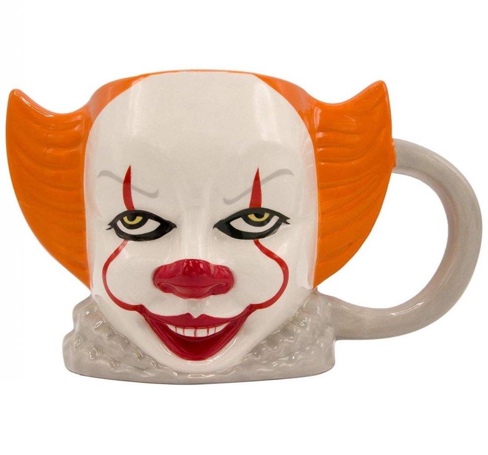 Кружка Оно - IT Pennywise Ceramic 3D Sculpted Mug
