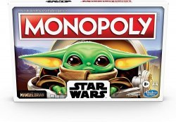 Монополия настольная игра Monopoly Star Wars The Child Edition Малыш Йода