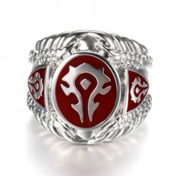 Кольцо World of Warcraft Horde (размер 10)