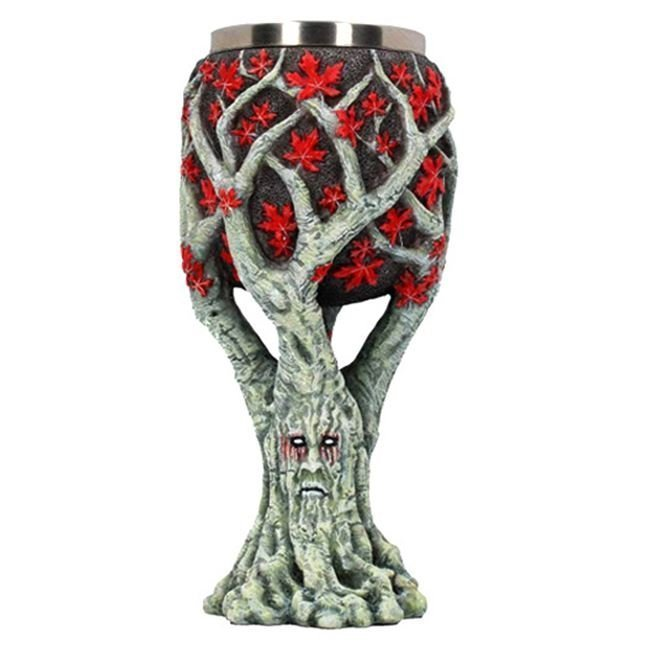 Кубок Game of Thrones Wine Goblet - Weirwood Face Чар древо