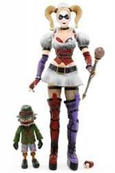 Фигурка DC Batman Arkham Asylum Harley Quinn Play Arts Kai Action Figure