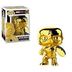 Фигурка Funko Pop! Marvel - Captain America (Gold Chrome)