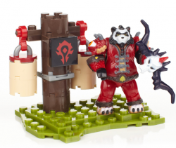 Mega Bloks World of Warcraft Set: hunter panda