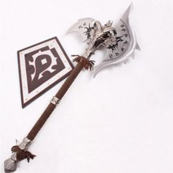 World of Warcraft Shadowmourne Axe 1 : 1 Full Metal