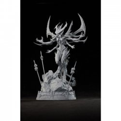 Коллекционная статуэтка Diablo Polystone Statue Artist Proof by Sideshow