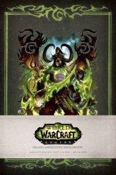 Альбом World of Warcraft: Legion Deluxe Hardcover Sketchbook
