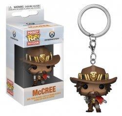 Брелок - Funko Pocket Pop! Overwatch Keychain - McCree