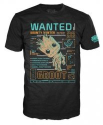 Футболка Men's Pop! T-Shirts: Guardians Of The Galaxy - Groot Line Up (размер L)