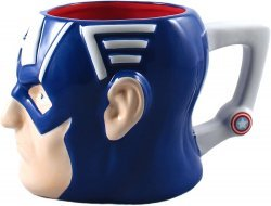 Чашка Marvel Captain America 3D Ceramic Mug 20 oz.