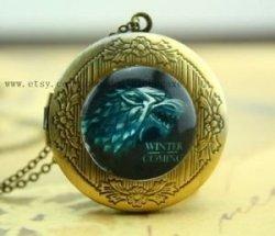 Медальон Game of Thrones Stark Wolf #2 (Black)