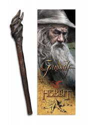 Ручка + Закладка THE HOBBIT - GANDALF Staff Pen and Lenticular 3D Bookmark
