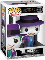 Фигурка Funko Pop Heroes: Batman 1989 - Joker with Hat Джокер фанко