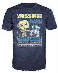 Футболка Men's Pop! T-Shirts: Star Wars - C3po R2d2 Poster (размер M)