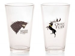 Набор стаканов Game of Thrones Stark and Baratheon