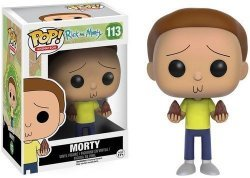 Фигурка Фанко Рик и Морти Funko Pop! Rick and Morty - Morty Action Figure