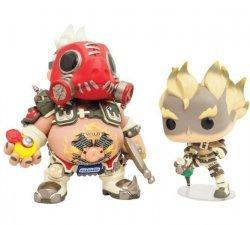 Фигурка Overwatch Funko Pop! Vinyl Roadhog and Junkrat 2-Pack (Blizzard Exclusive)